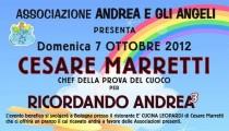 Pranzo solidale Ricordando Andrea - Bologna 7 ottobre 2012