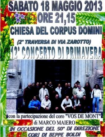 Concerto di Primavera 2013 - Coro Dolci Armonie