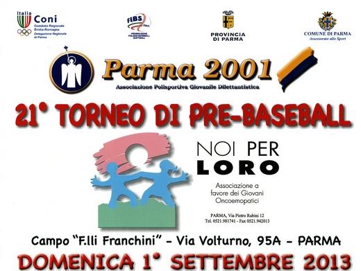 Torneo pre-baseball NOI PER LORO 2013
