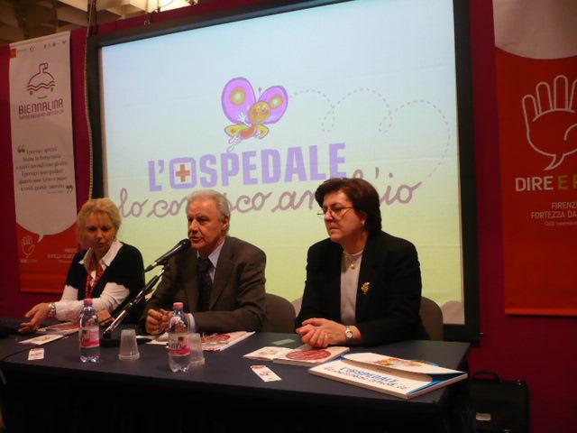 L'Ospedale lo conosco anch'io Biennalina Firenze 2008 Rossana Allegri Giancarlo Izzi Nella Capretti