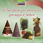 Locandina campagna solidale Natale 2018 Noi per Loro onlus Parma