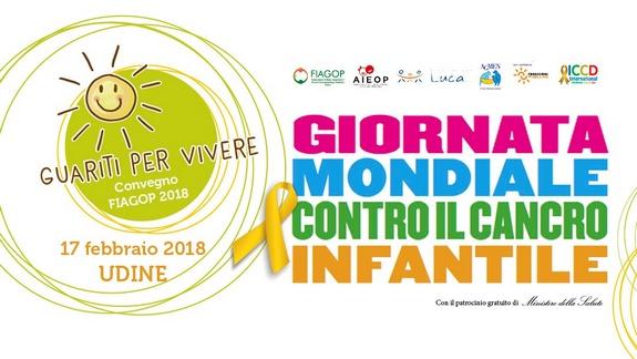 Giornata Mondiale Contro il Cancro Infantile 15 febbraio 2018