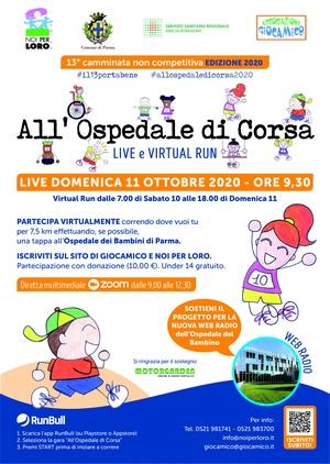 All'Ospedale di Corsa Parma 2020